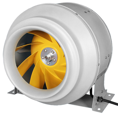 """12"""" F5 Industrial High output In Line Fan - 2320 CFM ..."""