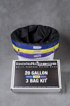 BOLDT BAGS 20 GALLON 3 BAG KIT
