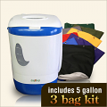 5 Gallon Drop Machine 3 Bag Combo Kit