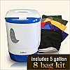 5 Gallon Drop Machine 8 Bag Combo Kit
