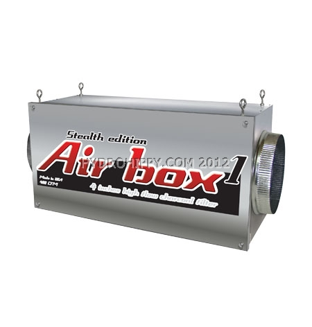 """Airbox 1 Stealth Edition 500 CFM (4"""" flanges)"""