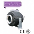 6 inch Twin Inline Duct Fan 585 CFM